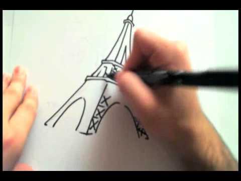 dibujando torre