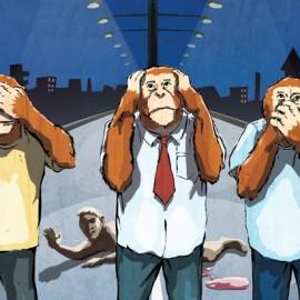 ¿POR QUÉ GRABABAN ALGUNOS TESTIGOS  DURANTE EL ATENTADO?: EFECTO ESPECTADOR