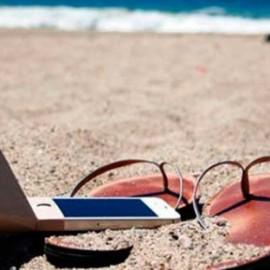 ¡ADIOS móvil, HOLA vacaciones!